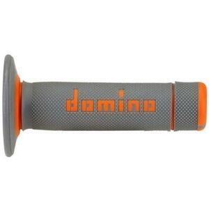 Coppia manopole Tommaselli Off Road A020 22mm grigio/arancione
