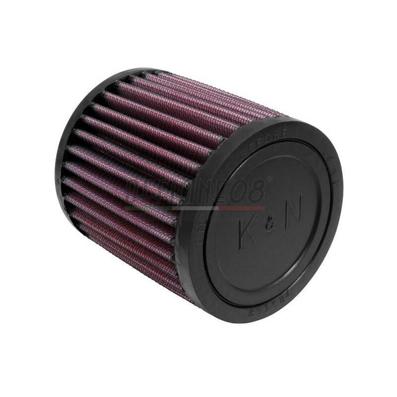 Filtro a trombetta 52x102mm cilindrico K&N