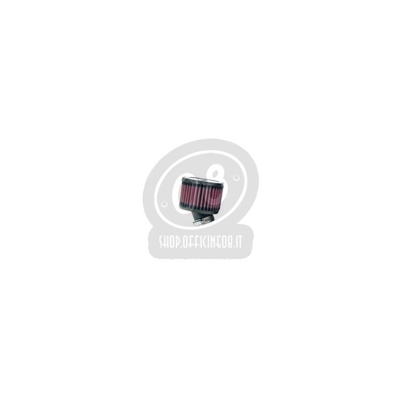 Coppia filtri a trombetta 38x70mm cilindrico ovale inclinato 30° K&N - Foto 2