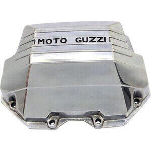 Coperchio distribuzione per Moto Guzzi Serie Grossa Teste Quadre lucido