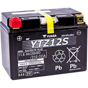 Batteria di accensione Yuasa YTZ12S 12V-11Ah