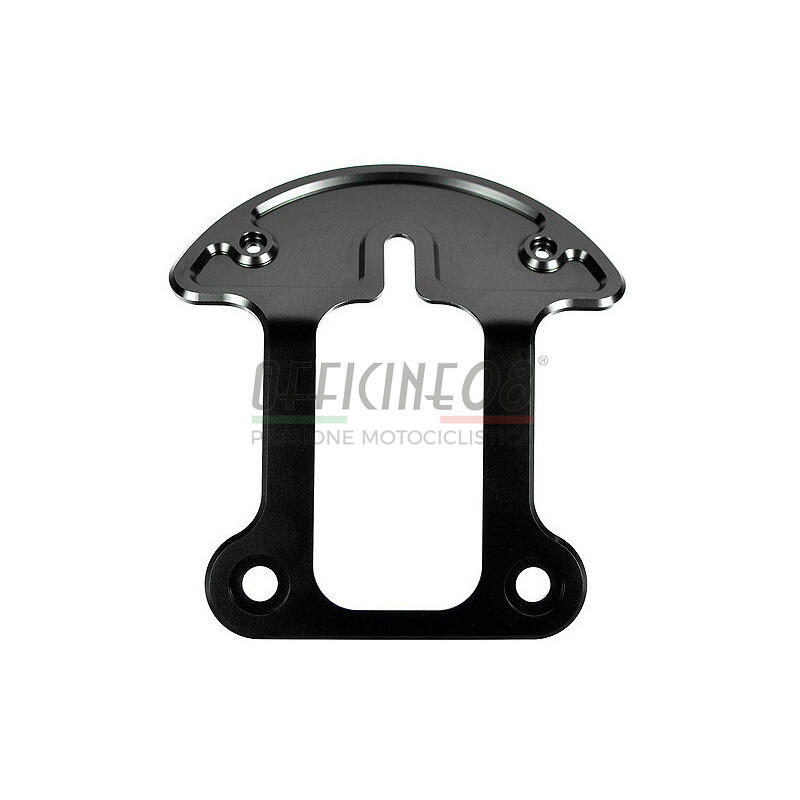 Mounting bracket a anodized black for motoscope pro Motogadget