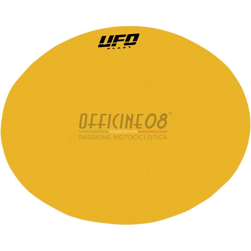 Adesivo tabella portanumero giallo set 3pz