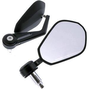 Specchietto retrovisore bar-end Modern nero coppia