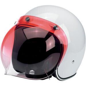 Visiera Biltwell Bubble gradient rosso