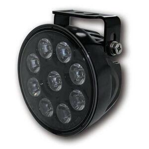 Additionial led headlight Highsider ABS high beam riflector black