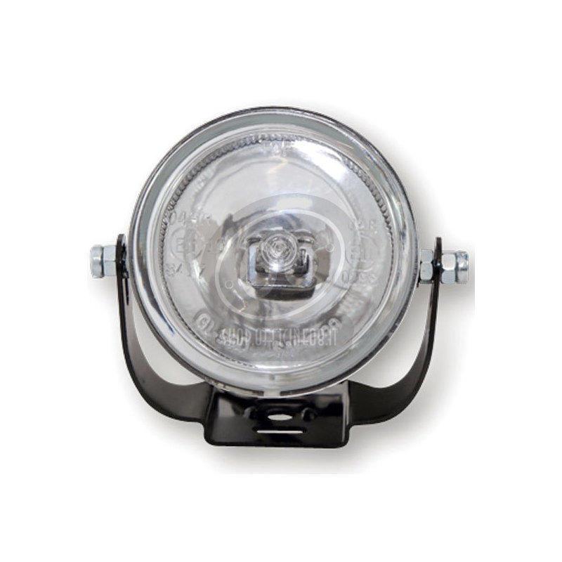 Additionial halogen headlight Round mini high beam - Pictures 2