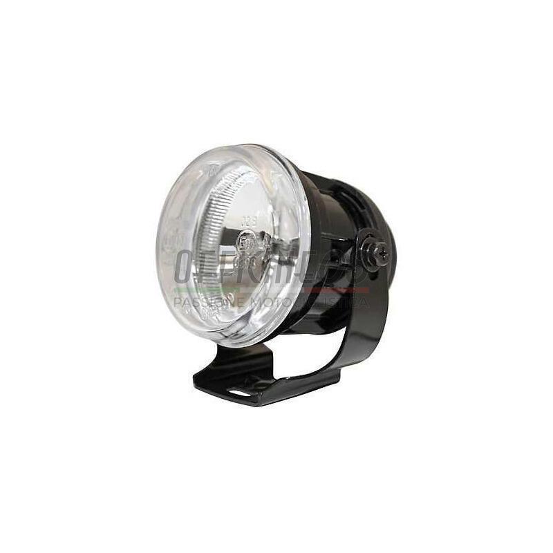 Additionial halogen headlight Round mini high beam