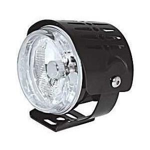 Additionial halogen foglight Round mini cover black