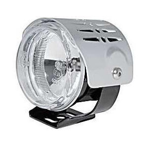 Additionial halogen headlight Round mini high beam cover chrome