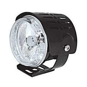 Additionial halogen headlight Round mini high beam cover black