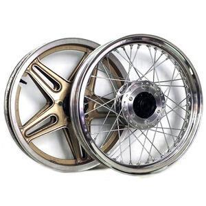 Kit ruote a raggi completo per Honda CB 750 F Bol D'Or 18''x2.15 - 18''2.50 CNC