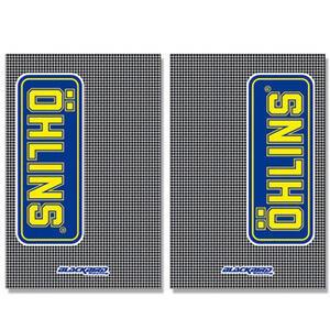 Adesivo Ohlins 230x150mm coppia