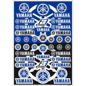 Adesivo Yamaha kit blu