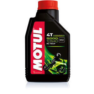Engine oil 4T Motul 10W-40 5000 1lt