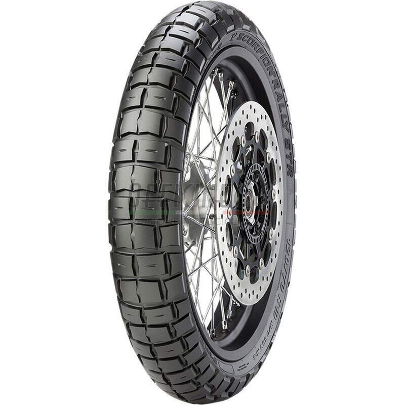Pneumatico Pirelli 100/90 - ZR19 (57V) Scorpion Rally Street anteriore