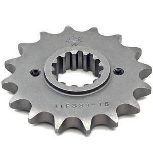 Pignone 530, interno 21/25mm, fori 42mm, spessore 10.7mm, n.16 denti