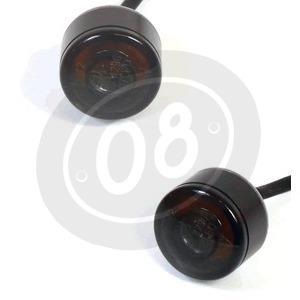 Led winkers Highsider Pin Evo position light combo smoked pair