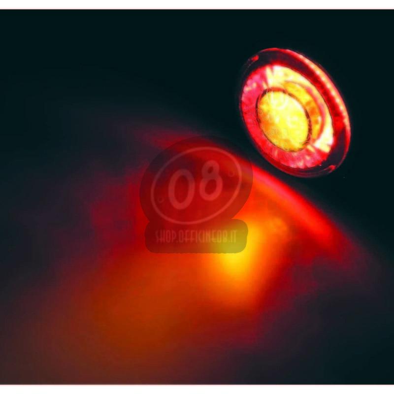 Coppia frecce led Highsider Pin Evo con fanalino posteriore fumè - Foto 5