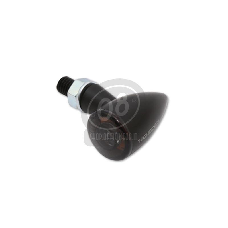 Coppia frecce led Highsider Bullet mini luce posizione fumè - Foto 3
