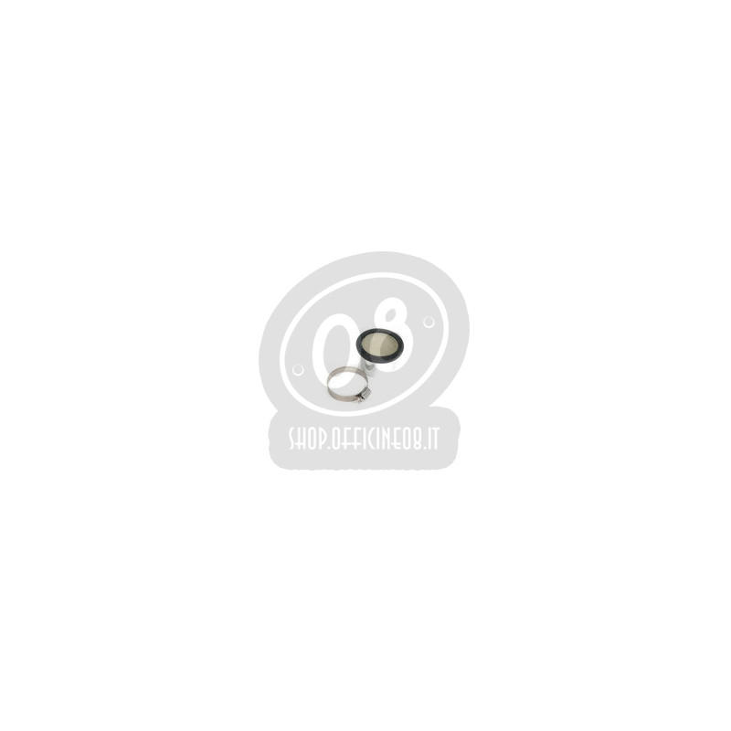 Cornetto aspirazione 50x74mm a fascetta - Foto 2