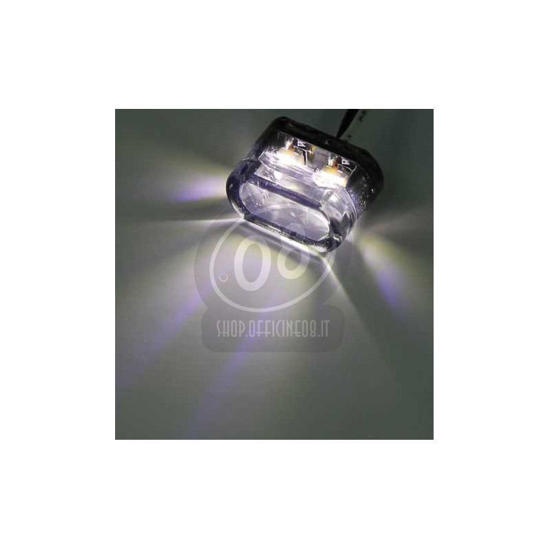 Additionial led headlight Shorty mini position pair - Pictures 2