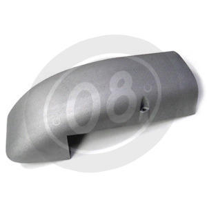 Air box cover BMW R 80 alloy grey