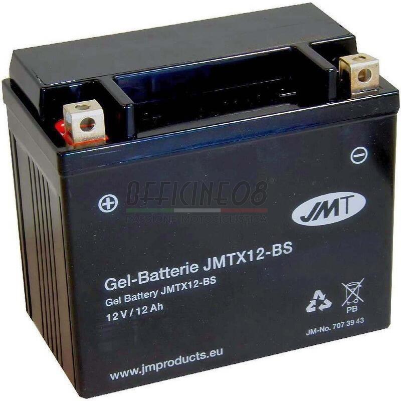 Batteria per Honda VF 750 C Magna gel JMT 12V-10Ah