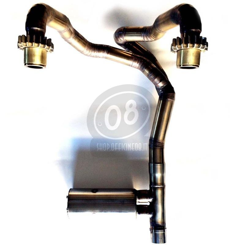 Exhaust system Moto Guzzi 1000 SP - Pictures 2