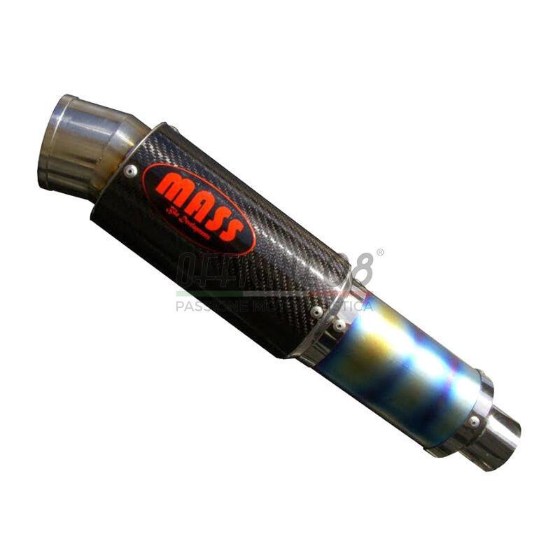 Exhaust muffler Mass GP titan