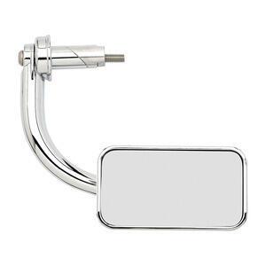 Specchietto retrovisore bar-end Biltwell Rectangle 22mm cromo