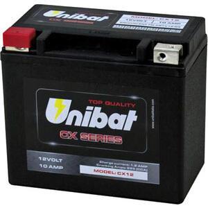 Batteria di accensione Unibat CX12 12V-10Ah