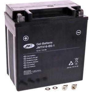 Batteria di accensione JMT YTX16-BS-1 gel 12V-14Ah