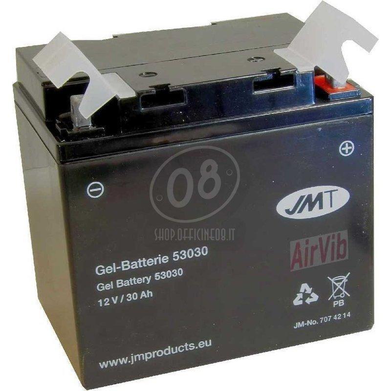 Batteria per Moto Guzzi 850 Le Mans gel JMT 12V-28Ah