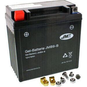 Batteria di accensione JMT YB9-B-BS gel 12V-9Ah