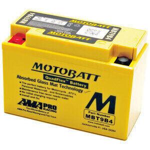 Batteria di accensione MotoBatt MBT9B4 12V-9Ah