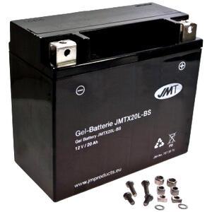 Batteria per Moto Guzzi 1100 California i.e. Vintage gel JMT 12V-20Ah