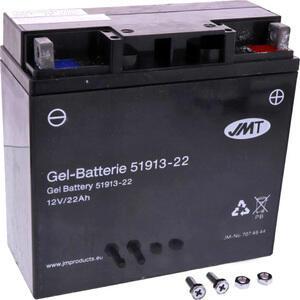 Batteria di accensione JMT 51913 gel 12V-22Ah