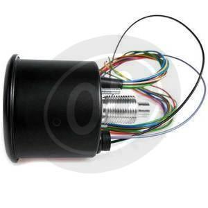 Contachilometri meccanico MMB Classic K=0.7 M18 con spie corpo nero fondo nero - Foto 7