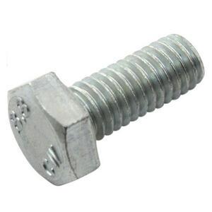 Brake disc contour fixing bolt M6x1