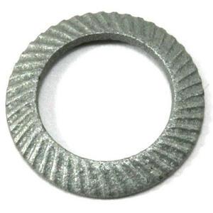 Brake disc contour fixing washer