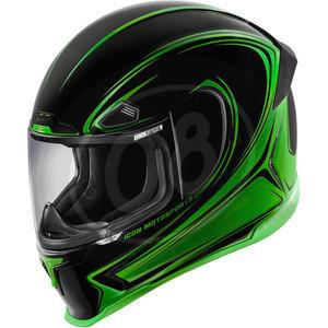 Casco Icon AirFrame Pro Halo verde