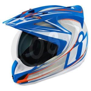 Helmet Icon Raiden Variant white/blu