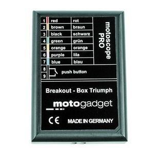 Box spie di controllo Motogadget Breakout Box per Triumph