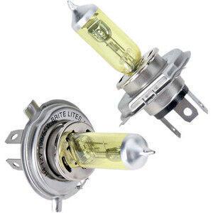 Bulbo alogeno 12V-H4, 60/55W giallo coppia