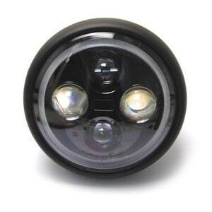 Faro anteriore 7'' Sport full led nero