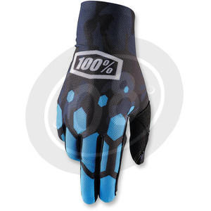 Gloves 100% Celium black/blue