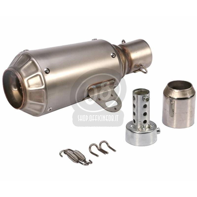 Exhaust muffler Hyper Motard stainless steel - Pictures 3