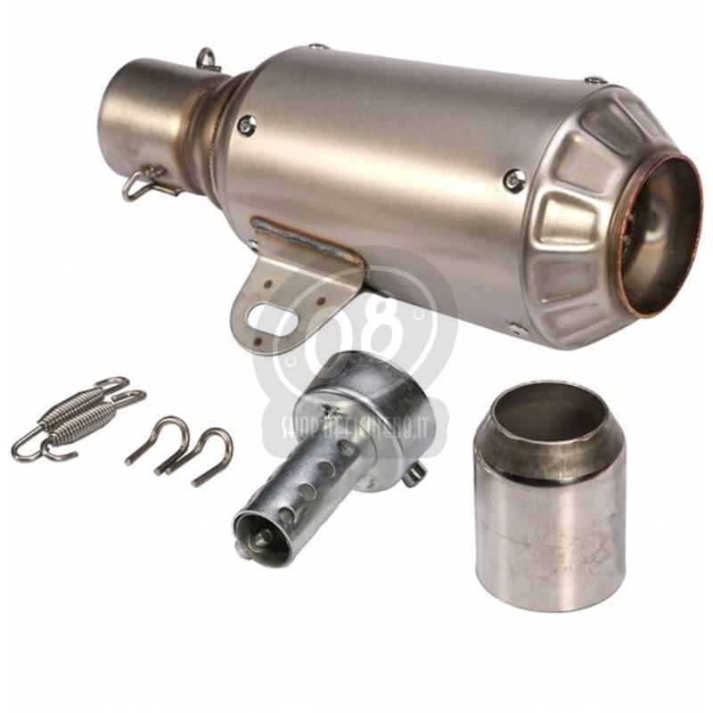 Exhaust muffler Hyper Motard stainless steel - Pictures 2