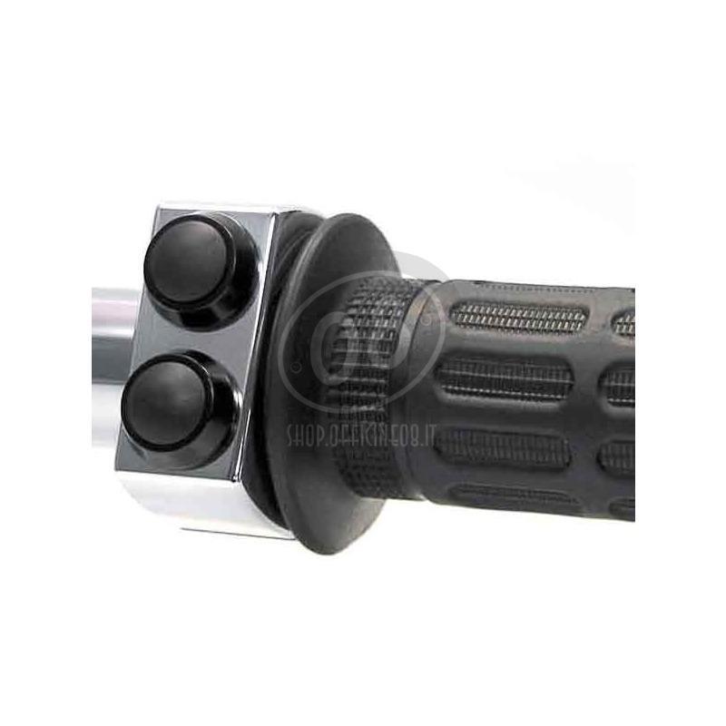 Button set Motogadget 22mm M-Switch 2 polish button black - Pictures 2